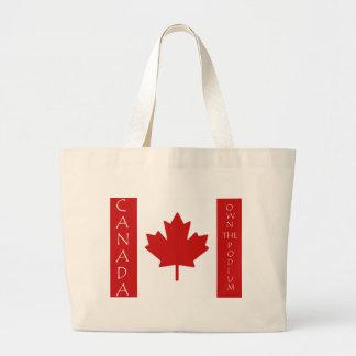 Canadá posee el podio bolsa tela grande