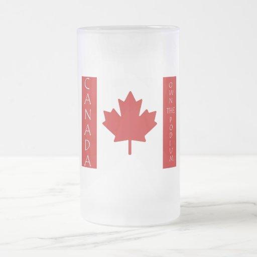 Canadá posee el podio tazas de café