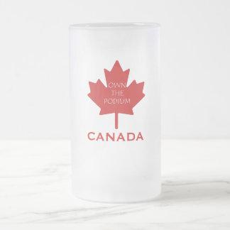 Canadá posee el Podium2 Tazas
