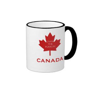 Canadá posee el Podium2 Tazas De Café