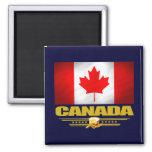 Canada Pride 2 Inch Square Magnet
