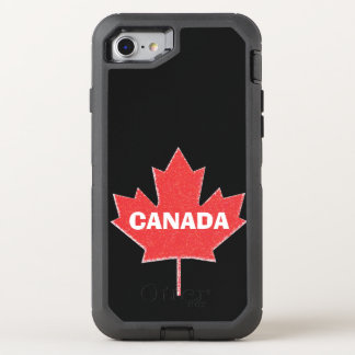 Canada Pride Maple Leaf OtterBox Defender iPhone 7 Case