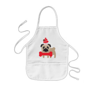 Canada Pug Tees, Gifts CUSTOMIZE Kids' Apron