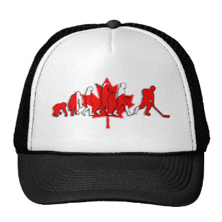 Canada pure gold ice hockey winners gifts mesh hats
