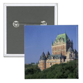 Canada, Quebec City.  Chateau Frontenac. Button