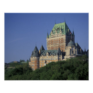 Canada, Quebec City.  Chateau Frontenac. Poster