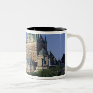 Canada, Quebec City.  Chateau Frontenac. Two-Tone Coffee Mug
