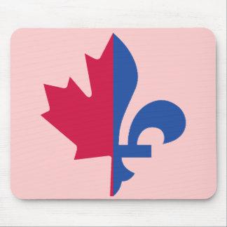 CANADA QUEBEC FLAG MOUSE MATS