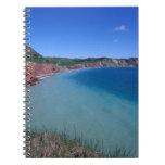 Canadá, Quebec, islas de Magdalen, capsula bien Spiral Notebook