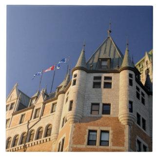 Canadá, Quebec, la ciudad de Quebec. Castillo fran Tejas Ceramicas