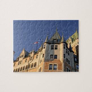 Canadá, Quebec, la ciudad de Quebec. Castillo fran Puzzle