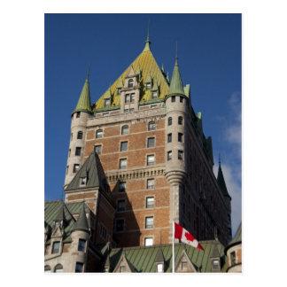 Canadá, Quebec, la ciudad de Quebec. Castillo Tarjetas Postales