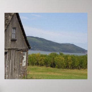 Canadá, Quebec, L'isle-aux.-Coudres, Póster