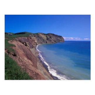 Canada, Quebec, Magdalen Islands, Cap Alright 2 Postcard