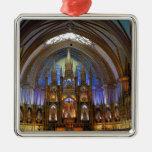 Canadá, Quebec, Montreal. Interior de Notre 2 Ornaments Para Arbol De Navidad
