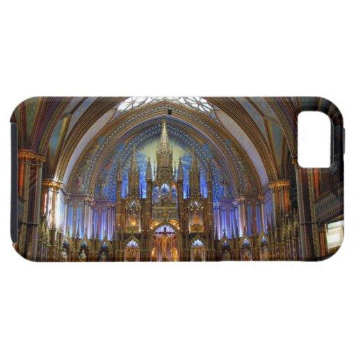 Canadá, Quebec, Montreal. Interior de Notre 2 iPhone 5 Funda