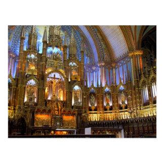 Canadá, Quebec, Montreal. Interior de Notre Postal