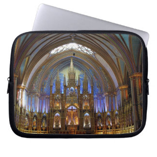 Canada,  Quebec,  Montreal. Interior of Notre 2 Laptop Computer Sleeves