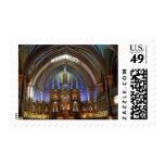 Canada,  Quebec,  Montreal. Interior of Notre 2 Postage Stamp