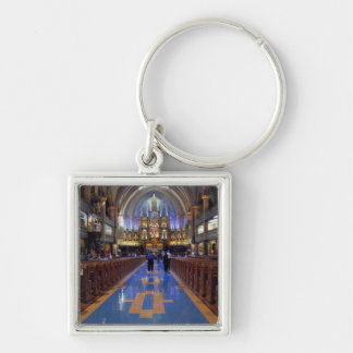 Canada,  Quebec,  Montreal. Interior of Notre 3 Keychain