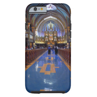 Canada,  Quebec,  Montreal. Interior of Notre 3 Tough iPhone 6 Case