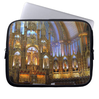 Canada,  Quebec,  Montreal. Interior of Notre Laptop Sleeve
