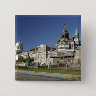 Canada,  Quebec,  Montreal. Old Montreal Pinback Button