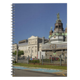 Canada,  Quebec,  Montreal. Old Montreal Spiral Notebook