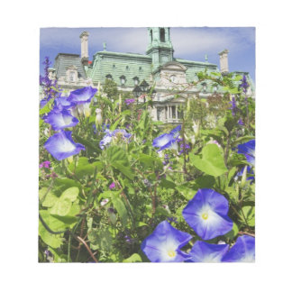 Canada, Quebec, Montreal. View of City Hall Notepad