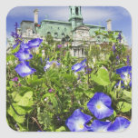 Canada, Quebec, Montreal. View of City Hall Square Sticker