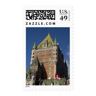 Canada, Quebec, Quebec City. Fairmont Chateau Stamps