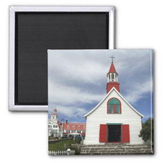 Canada,  Quebec,  Tadoussac. Petite Chapelle, Magnet