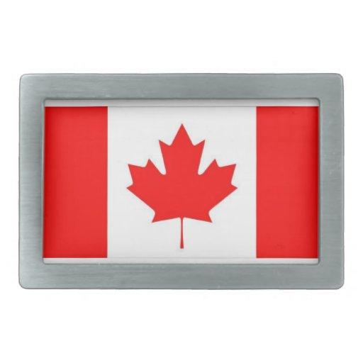 CANADA RECTANGULAR BELT BUCKLE