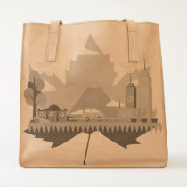 CANADA RECYCLE MAPLE LEAF TOTE
