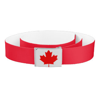 Canada Red Leaf Belt