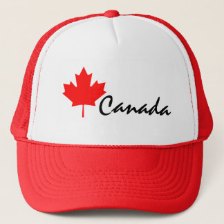 Canada Red Maple Leaf Trucker Hat