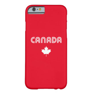 Canadá retro funda barely there iPhone 6