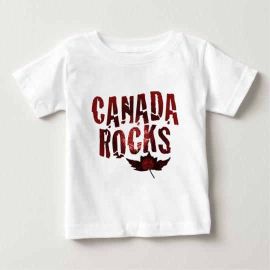 Canada Rocks Baby T-Shirt