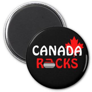 Canada Rocks - Curling Magnet