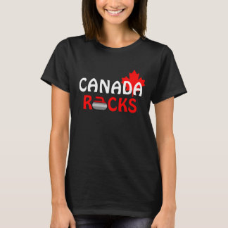 Canada Rocks - Curling T-Shirt