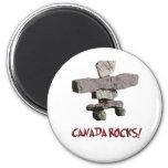 canada rocks! refrigerator magnets