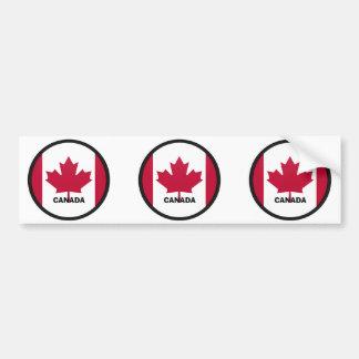 Canada Roundel quality Flag Bumper Sticker