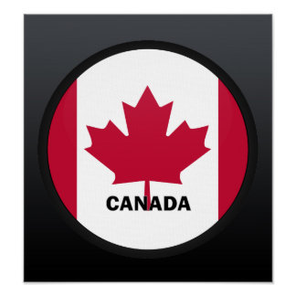 Canada Roundel quality Flag Poster