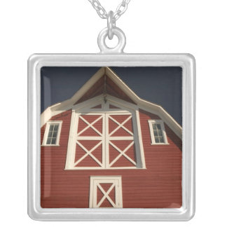 Canada, Saskatchewan, North Battleford: Western Square Pendant Necklace
