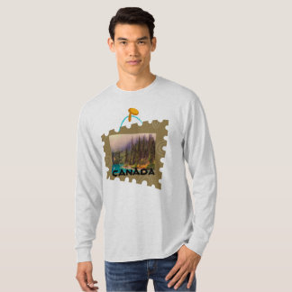Canada Scenic Northern Landscape T-Shirt