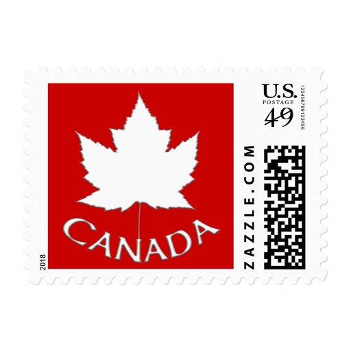 Canadá sella el sello de la hoja de arce de la