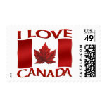 Canadá sella el sello de la hoja de arce de la ban