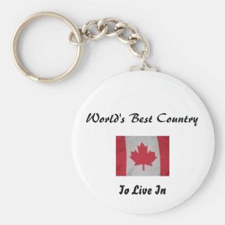 Canadá señala llavero por medio de una bandera