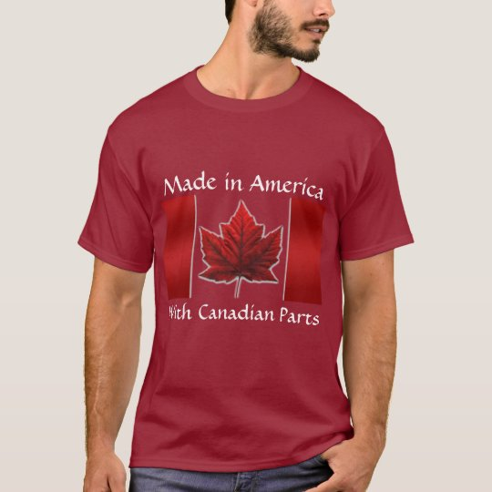 Canada Shirt Canada Flag Men's T-shirt