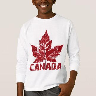 Canada Shirts Kid's Long Sleeve Canada Shirts